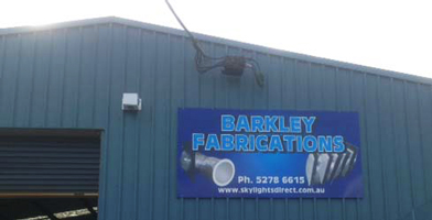 Barkley Fabrications Factory