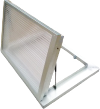 Triple Glazed Polycarbonate Flat Top Openable Hatchlight